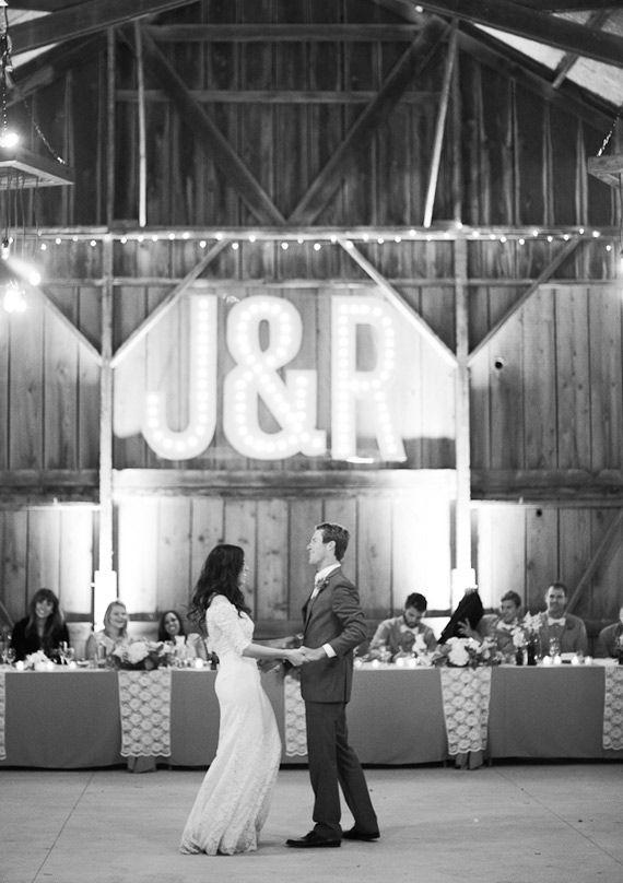 Marquee Light Wedding